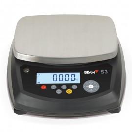 Balanza digital estanca Gram S3 de 6 a 30 Kg