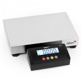 Báscula digital GRAM Z3T de 6 a 150 Kg