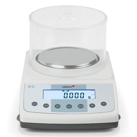 Balanza certificada Gram RS de 0,001 g a 0,01 g