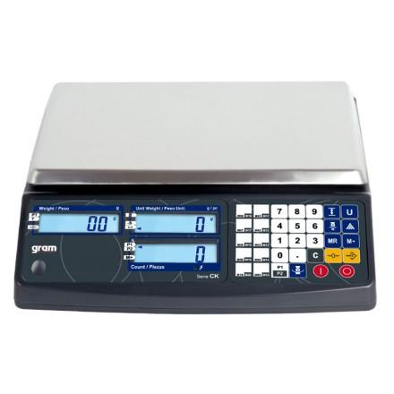 Balanza cuenta piezas Gram CK de 3 a 30 Kg