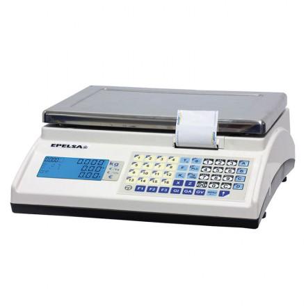Balanza comercial con impresora Epelsa Marte V4 10 IC