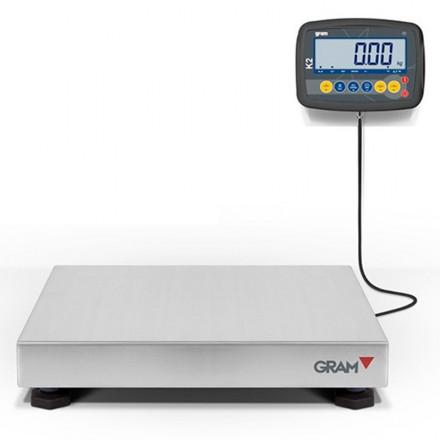 Báscula certificada K2 F Xtrem de 6 a 600 Kg