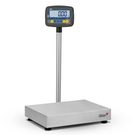 Báscula certificada K2 XT de 6 a 600 Kg