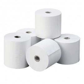 25 Rollos de papel térmico para impresoras 60x55 mm