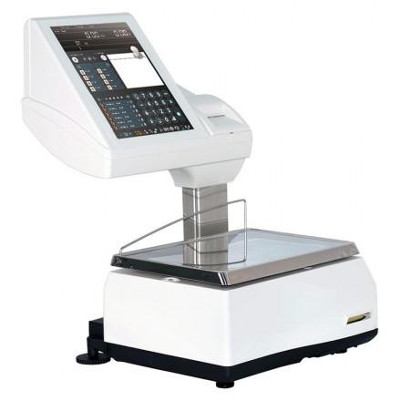 Balanza comercial etiqueta tique Epelsa Saturno K-Scale 20RLI