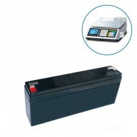 Batería para balanza comercial CAS CT100