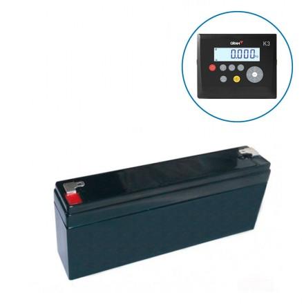 Batería original para visor Gram K3 Gram K3i Gram K1
