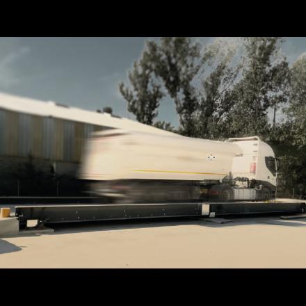 Báscula puente pesaje de camiones BPGSH