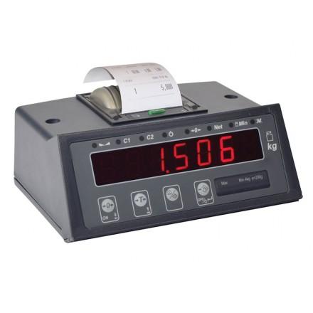 Visor peso-tara válido para metrología legal GI308TH20ST