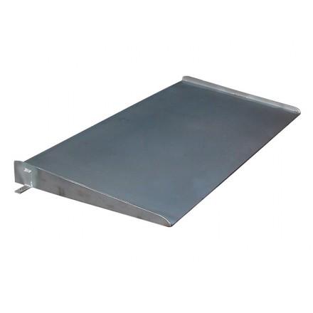 Rampa de acceso de acero inoxidable para báscula