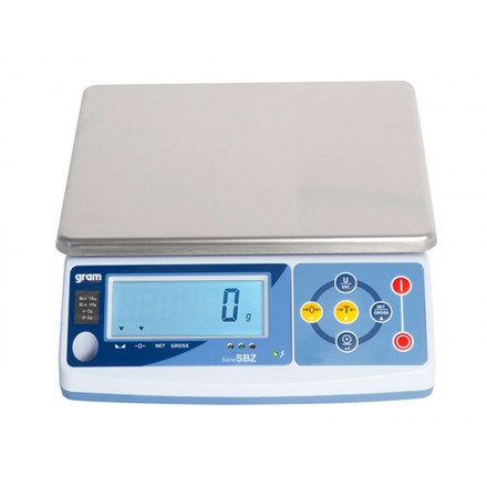 Balanza de mesa Gram SBZ de 0,6 a 20 Kg